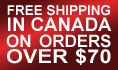 Free Shipping in Canada on Orders Over $70.00
